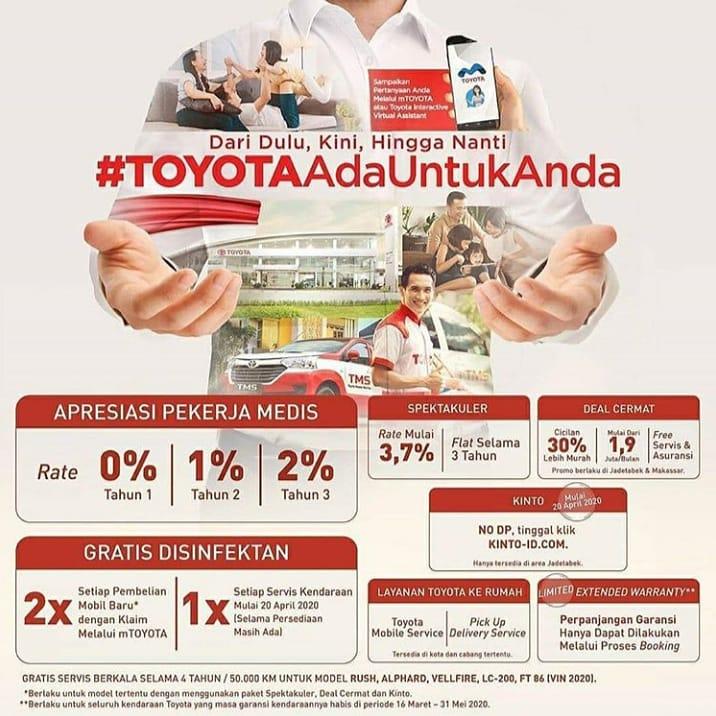 Toyota Ada untuk Anda